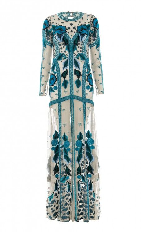 Temperley London Long Flutura Dress
