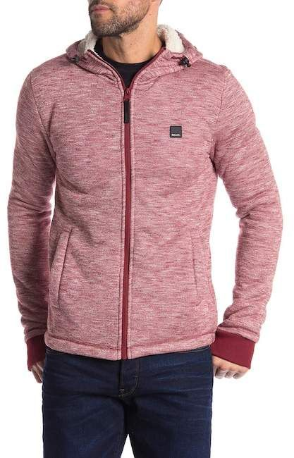Bench Bonded Marled Zip Up Hoodie Rugged Rascal The Stylish Man