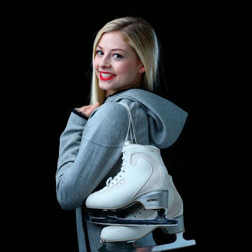 Gracie Gold: She must get very attached to her skates (although I know the pros have to get a few pairs each year).