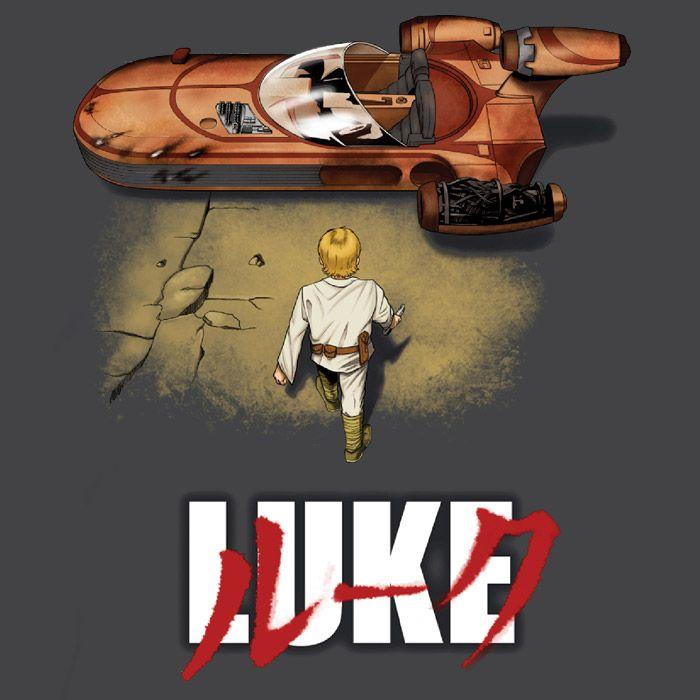 Neo-Tatooine is about to E.X.P.L.O.D.E. t-shirt  Akira inspired Star Wars t-shirt