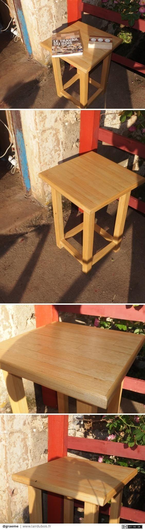 Les 25 meilleures id es de la cat gorie tables de chevet - Fabriquer table de chevet ...