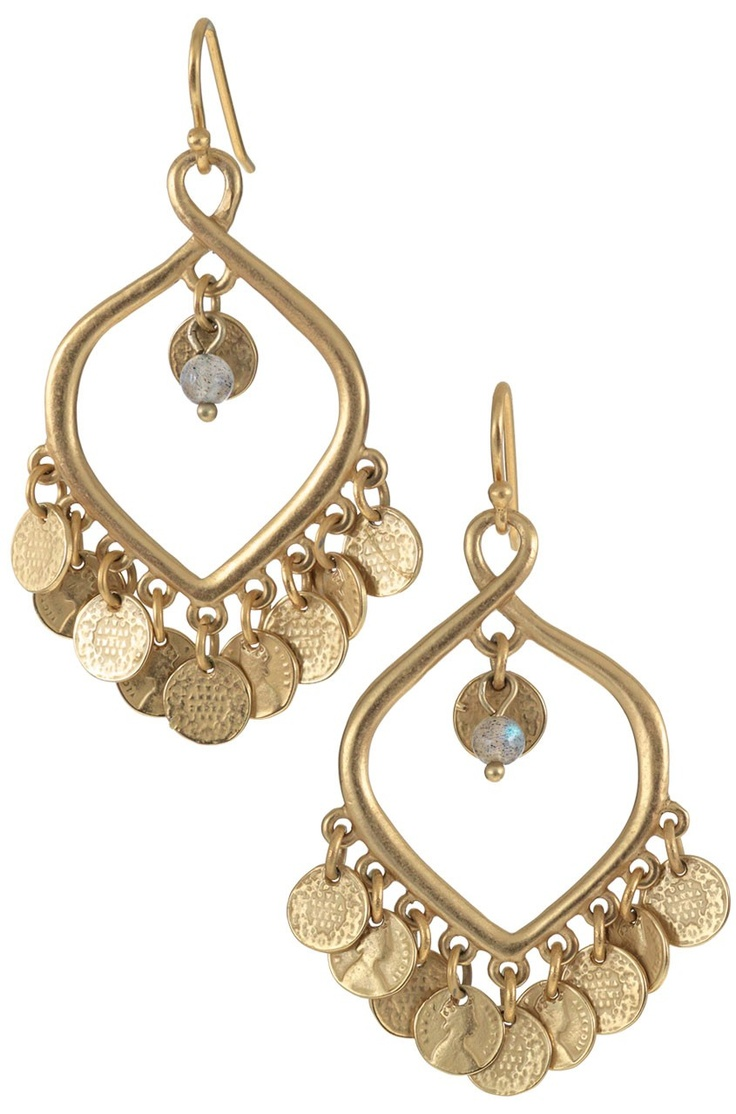 Love these!  A steal at $31!  Go to the sale section www.stelladot.com/maryreed    Rio Chandelier Earrings--Gold