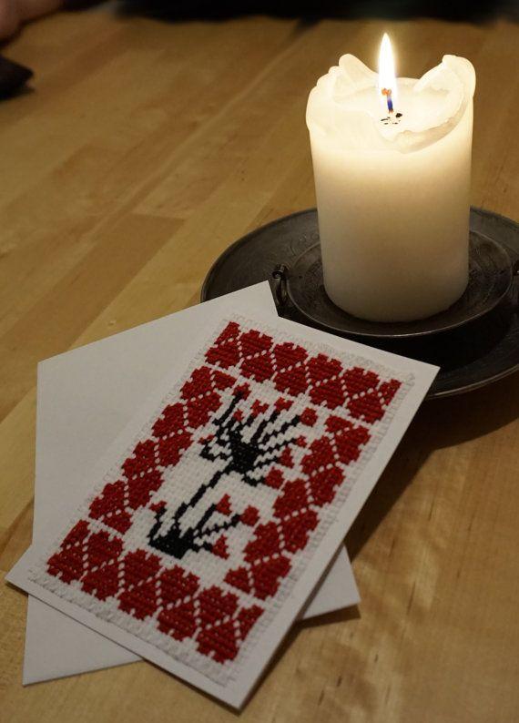 Happy Valentine Cross Stitch Pattern by CamisTheCrossStitch