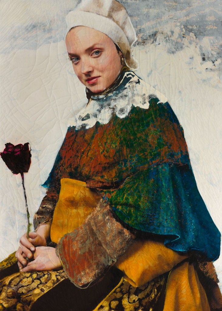 """hifructosemag: """"Spanish artist Lita Cabellut paints 17th century Spanish and Dutch Baroque inspired portraits that are larger than life. A visit to Madrid's Prado Museum when she was young affected..."""