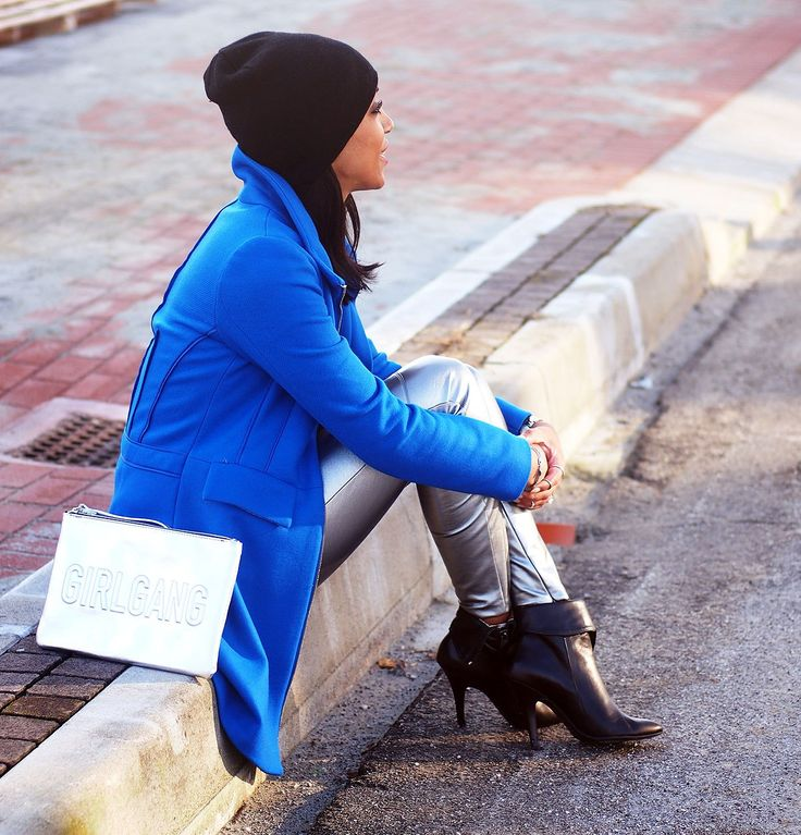ornella nelly-the ladybug's beauty-trend metallizzato-abiti metallizzati-grigio metallizzato-cappotto donna-zara-desigual-tricot vibes-nelly-blogger-fashion blogger -influencer italia