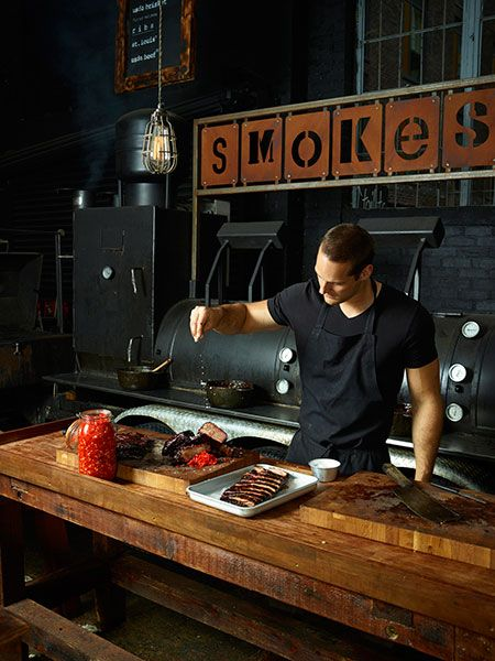 Meat lovers will be in heaven at Smokestak's pop-up, where you'll find slowly cooking beef brisket, topped with sweet, sticky sauces. Look out for them at Model Market and Street Feast, Dalston Yard this summer.
