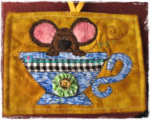 Ratón en pocillo