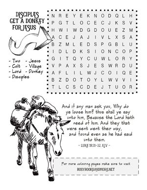They're Here... FREE Bible Activity Pages for Kids! - Busy Books and More
