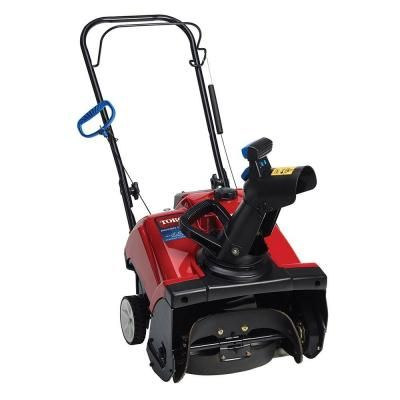 Toro Power Clear 518 ZE 18 in. Single-Stage Electric Start Gas Snow Blower-38473 at The Home Depot