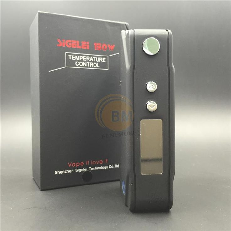 Authentic Sigelei 150w TC Sigelei 150 Watt TC Mod Temp Control Box Mod VS Sigelei 75W TC MOD IPV4 MOD IPV3LI IPV3 LI Online with $70.16/Piece on Benemore's Store | DHgate.com