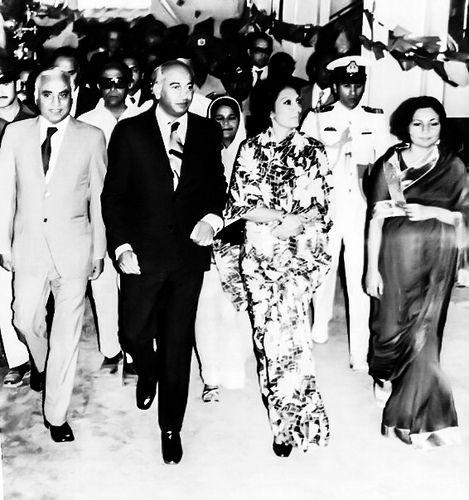 Brisk Pace: Zulfikar Ali Bhutto, Begum Bhutto