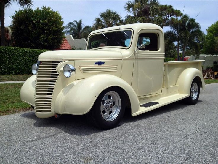 1938 CHEVROLET  CUSTOM PICKUP All-steel 1938 Chevy pickup body. Corvette suspension, Corvette tuned-port injection and power suicide doors. The ultimate Street Rod custom truck. VDO gauges following nut and bolt restoration.