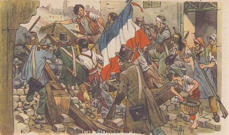 Les Trois Glorieuses (27-28-29 juillet 1830)