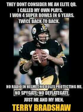 Terry Bradshaw - the truth stands on its own