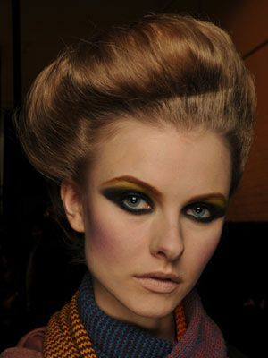 Model Makeup - Runway Makeup Looks and Tips - Marie Claire