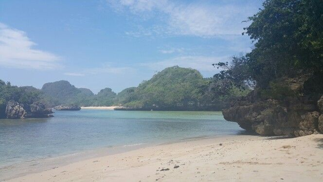 Gatra beach malang, jawa timur, indonesia