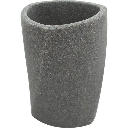 Geo Stone Tumbler, Gray