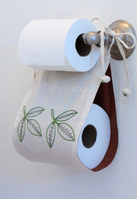 This is great! Toilet paper holder - make larger for multiple rolls!