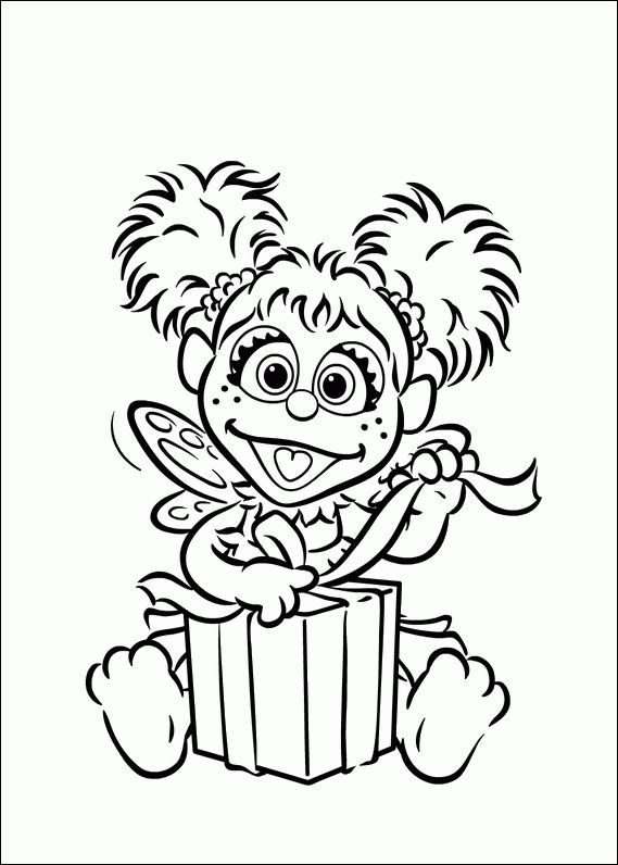 95 best images about elmo abby party ideas on pinterest for Elmo and abby coloring pages