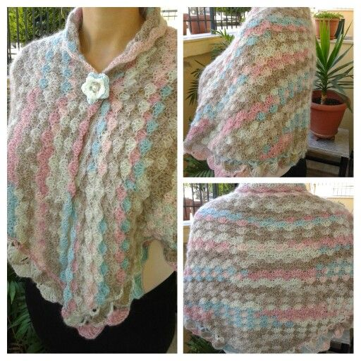 My triangle shawl.