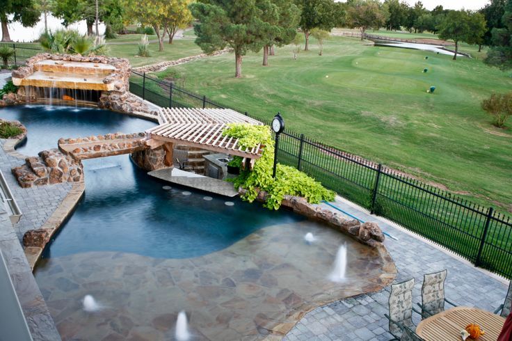 Extreme Backyard Pools Model Fascinating Design Ideas
