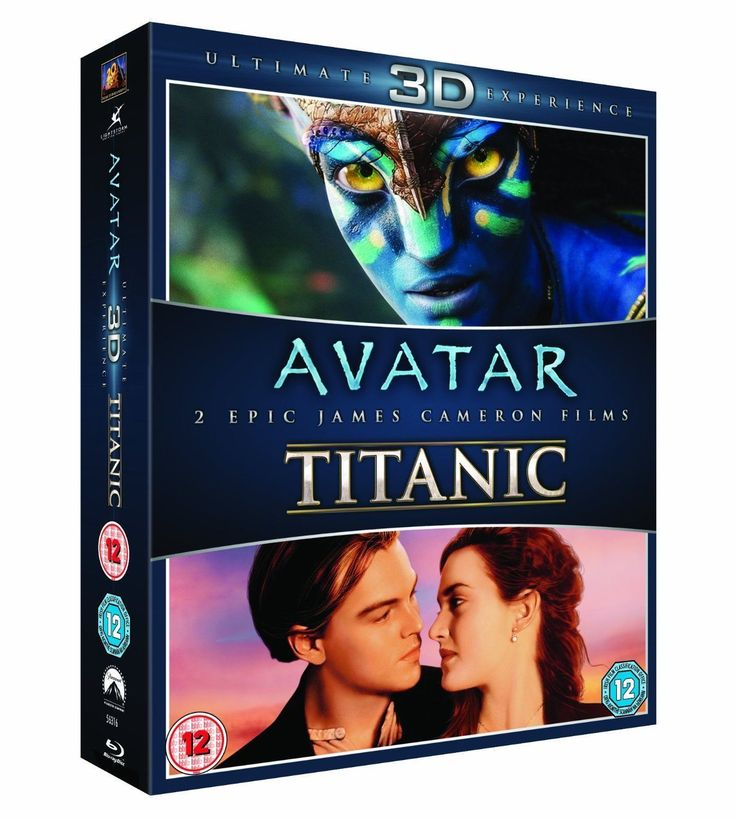 #Avatar / #titanic (3d blu-ray, #2013),  View more on the LINK: http://www.zeppy.io/product/gb/2/252620235332/