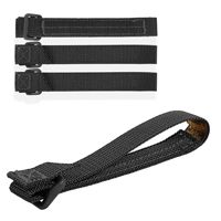 "5"" TacTie: Maxpedition® patent pending TacTie™ Attachment Strap system is used to integrate accessory pockets onto packs, vests, MOLLE equipment and PALS surfaces effortlessly in an interlocking manner. Pack of 4. www.Maxpedition.com"