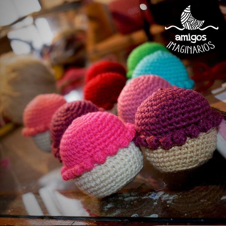 #cupcakes <3 :3 #amigurumi #crochet #crochetlove #instacrochet #handmade #hechoamano #design #designbyluna #mendoza #argentina