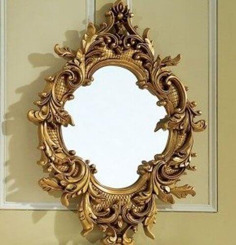 Pigura Cermin Ukir 3 Dimensi PGR-003, cermin, living room, perabot rumah