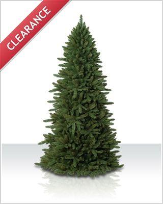 8 ft Sierra Slim Unlit Christmas Tree | Christmas Tree Market