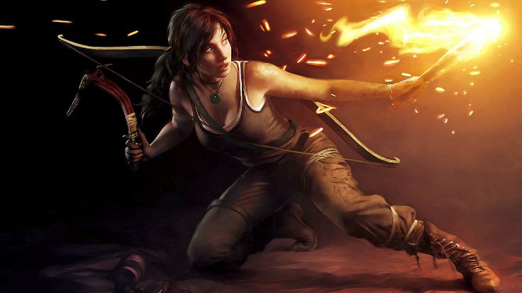 3D Amazing Girl With Bow And Arrow Hd Wallpaper Available For