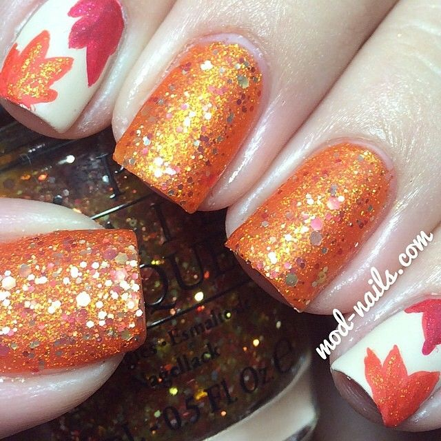 300 best fall thanksgiving nails images on pinterest autumn cool easy nice for any time of the season especially in the fall and you can do it yourself solutioingenieria Images