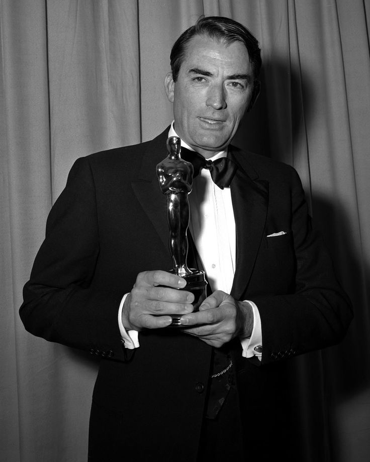 Gregory Peck won best actor for To Kill a Mockingbird in 1962