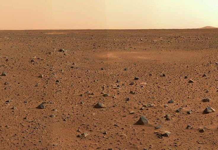 La NASA encuentra evidencias de que en Marte también nieva vía @cerestv