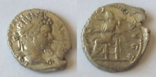 #a403# Roman silver coin of Septimius Severus 197-198 AD