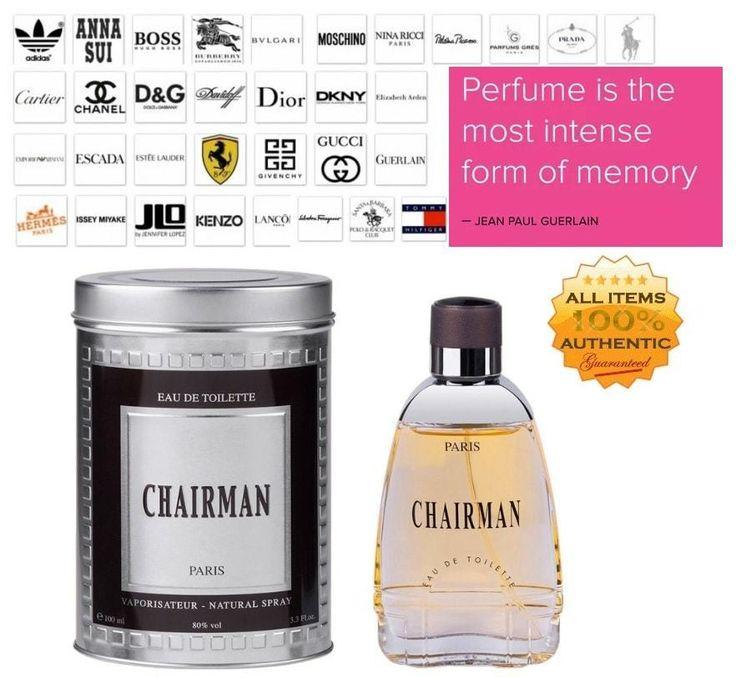 CHAIRMAN 3.3 EDT Spray for MEN Perfume by Yves De Sistelle #YvesDeSistelle