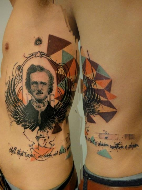 269 best images about edgar allan poe on pinterest for Ravens face tattoos