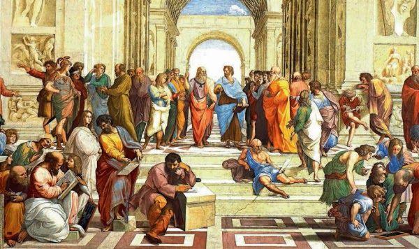 Говорили, что Аристотель читал два вида лекций: утренние — с более детальным обсуждением, для узкого круга избранных учеников, и вечерние — для широкой публики, которая просто любила узнавать новое. (Вы на какую пошли бы? Мы — точно на обе.)