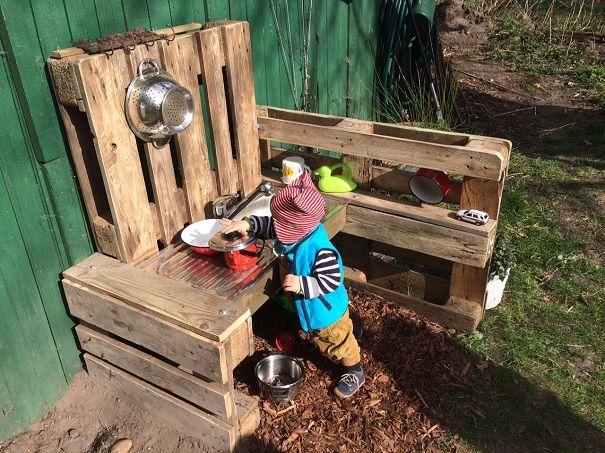 1000+ images about Matschküche on Pinterest For kids, Kitchen - outdoor küche selber bauen