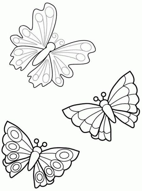 De Mariposas Para Colorear