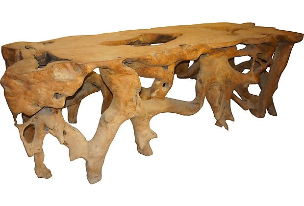 15 best images about Tree root furniture on Pinterest  : 1ecba71a98638421f97a5b0789099995 driftwood projects tree table from www.pinterest.com size 620 x 422 jpeg 64kB