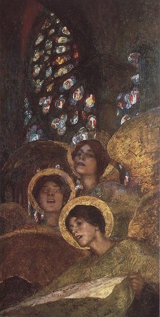 Edgard Maxence, concert d'anges