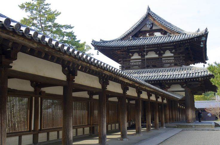 法隆寺 Horyuji Temple   por ELCAN KE-7A