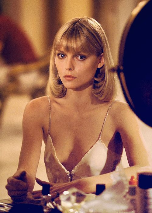 Michelle Pfeiffer as 'Elvira Hancock' - 1983 - Scarface - Directed by Brian De Palma - @~ Mlle