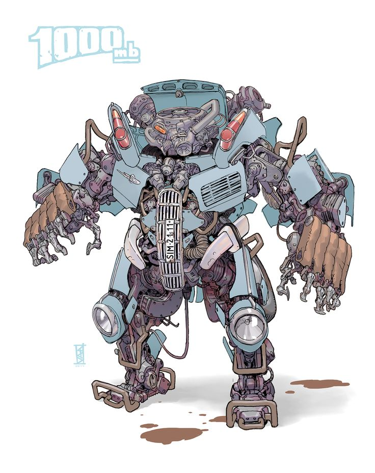 Rude Mechanicals | infinitemachine:   Mecha of the...