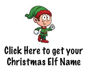 Christmas Elf Name