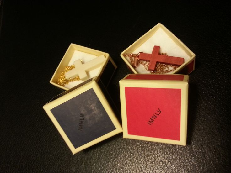 IMNLV first packaging try. All because people started asking for them... This is camel bone and pink ivory wood.