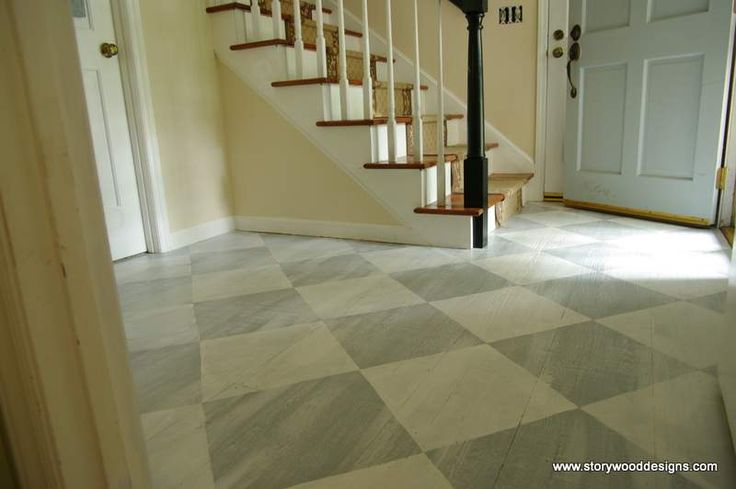 ann sloan chalk board paint   On Annabellea , Jeri shows us the gorgeous floor that she painted in ...