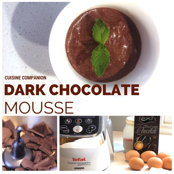 CHOCOLATE MOUSSE Cuisine Companion