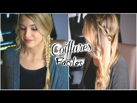 [ Tutoriel Coiffure n° 33 ] : Tresse Loop & Couronne Lachée ♡ - YouTube